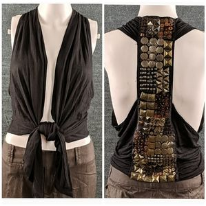 Ginger G AWESOME Studded Vest/Top